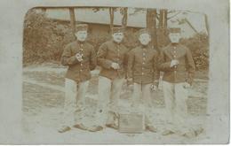 Superbe Carte Photo - SENZEILLES Au Camp De BEVERLOO - 7EME Régiment De Ligne - Cachet De La Poste 1905 - Oorlog, Militair