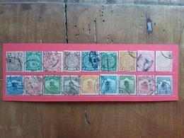 CINA - Impero/Repubblica - Lotticino 18 Francobolli Differenti Timbrati + Spese Postali - Chine