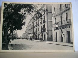 1942 - Battipaglia - Banco Di Napoli - Banca - Animata - Cartolina D'epoca Originale - Battipaglia