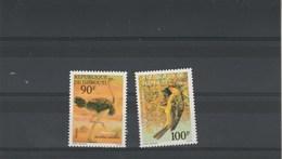 Djibouti Yvert Série 463 Et 464 ** Neufs Sans Charnière - Oiseaux - Djibouti (1977-...)