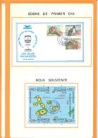 ECUADOR - ALBUM GALAPAGOS - 1986 - SEE SCANS -  Lot 18454 - Equateur