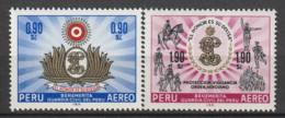 PEROU - N°PA  204/5 ** (1966) Garde Civile - Peru