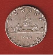 Canada  -  1 Dollar 1966  -  - état  SUP - Canada