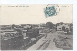 Cpa - 11 -   Lezignan  Lesv Quais De La Gare   1904   Rare - France