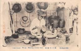 Corée - Korea  / 15 - Making Corean Hats - Korea, South