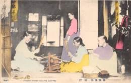 Corée - Korea  / 24 - Chosen Women Fulling Clothes - Korea (Zuid)