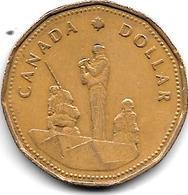 *Canada 1 Dollar   1995  Km 258 - Canada