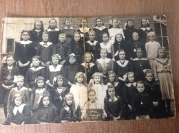 Steenhuffel Photo Carte De Classe 1917 - Cartes Postales