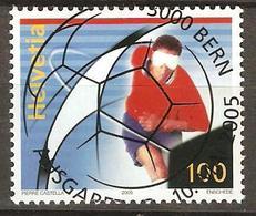 Zu 1166 / Mi 1925 / YT 1852 Sport Football Obl. 1er Jour Dcentrale - Switzerland