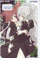 Carte Prépayée Japon * MANGA * No. 6/26 STRAWBERRY PANIC SERIE (16.465)  COMIC * ANIME  Japan Prepaid Card CINEMA * FILM - Comics