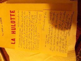 La-Hulotte-Roman-vecu-VAN-DE-LEEN-Ida-edition-originale-dedicacee-AUTOGRAPHE  La-Hulott - Livres, BD, Revues
