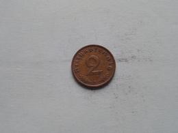 1937 A - 2 Reichspfennig / KM 90 ( Uncleaned Coin / For Grade, Please See Photo ) !! - [ 4] 1933-1945 : Troisième Reich