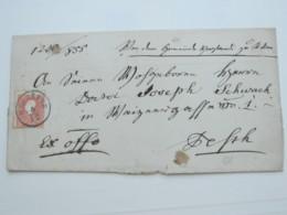 RACZKEVE ,klarer   Stempel Auf Brief - 1850-1918 Imperium