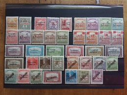UNGHERIA 1919-Occupazione Francese ARAD - 39 Valori Sovrastampati Nuovi * (nn. 15 E 43 Non Calcolati-sovrastampa Dubbia) - Nuovi