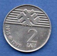 Lettonie  -  2 Lati 1993  -  Km # 18  -  état  SUP - Lettonie