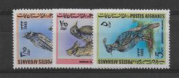 AFGHANISTAN - OISEAUX - YVERT N° 786/788 ** MNH - COTE = 12 EUR. - - Afghanistan