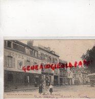 77 - MELUN- PLACE PRASLIN - HOTEL DE L' ILE- HOTEL DU CHEVAL BLANC- ADOLPHE LEGLAND- 1904 - Melun