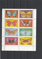 Guinée Equatoriale Bloc Feuillet Neufs Sans Charnière Papillons - Equatorial Guinea