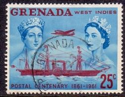 GRENADA 1961 Stamp Centenary, XFU, SG 210, C.v. £0.25 - Grenada (1974-...)
