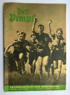 """Giornalino - Rivista D'epoca Nazista """"DER PIMPF"""" Nr. 9 Del 09.1937 Per Ragazzi Della HITLERJUGEND (GERMANIA WW2) - Documenti"""