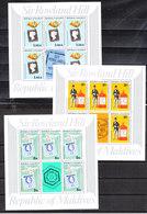 Maldive  -  1979, Robert Hill. Serie In 5 Freschi MNH Sheets. Series In 5 Fresh MNH Sheets. - Posta