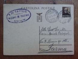 R.S.I. - Cartolina Postale Mazzini Senza Francobolli Aggiunti - Viaggiata + Spese Postali - 4. 1944-45 Repubblica Sociale
