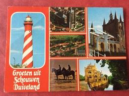 Nederland. Pays-Bas. Holland. Schouwen-Duiveland ( Vuurtoren Kerk Paard Cheval Horse Pferd ) - Nederland
