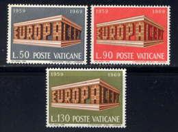 VATICAN - 488/490** - EUROPA - Neufs