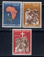 VATICAN - 491/493** - VOYAGE DE S.S. PAUL VI EN OUGANDA - Neufs