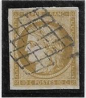 France N°1 - Oblitéré - TB - 1849-1850 Cérès