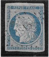 France N°4 - Oblitéré - B/TB - 1849-1850 Cérès
