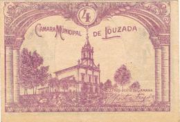CÉDULA DA CAMARA MUNICIPAL DE LOUZADA - 4 CENTAVOS. - Portugal