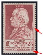 FRANCE : 1946 - 2+3F (ALFRED FOURNIER) - BELLE VARIÉTÉ : PLI ACCORDÉON ! / NICE VARIETY : ACCORDION PAPER FOLD ! (aa248) - France