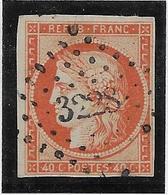 France N°5 - Oblitéré - Léger Clair Sinon TB - 1849-1850 Cérès