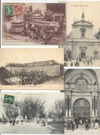 LOT DE 1200 CARTES DE FRANCE  200 GF  1000 PF  LOT A VOIR - Cartes Postales