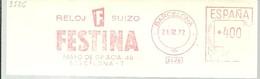 FRANQUEO MECANICO BARCELONA 1972 FRAGMENT 15X6 - Horlogerie