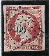 France N°17A - Oblitéré - TB - 1853-1860 Napoléon III
