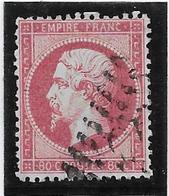 France N°24 - Oblitéré - TB - 1862 Napoleon III