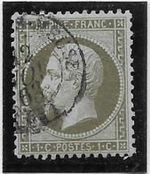 France N°19 - Oblitéré - TB - 1862 Napoleon III