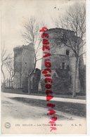 77 - MELUN- LES TOURS DE BLANDY  1908 - Melun