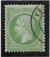 France N°20 - Oblitéré - TB - 1862 Napoleon III