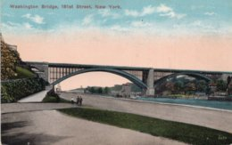 CPA   ETATS-UNIS   NEW YORK----WASHINGTON BRIDGE 181 St.---1916 - Other