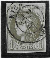 France N°39B - Oblitéré - TB - 1870 Uitgave Van Bordeaux