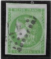 France N°42B - Oblitéré - TB - 1870 Uitgave Van Bordeaux