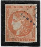 France N°48 - Oblitéré - TB - 1870 Bordeaux Printing