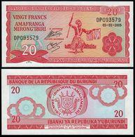 Burundi 20 Francs 2005 P-31 UNC - Burundi