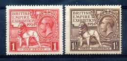 1924 GRAN BRETAGNA SET * - 1902-1951 (Re)