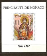 Monaco 1998 Yvertn° Bloc 79 *** MNH Cote 8,50 Euro Noël Christmas Kerstmis - Blocs