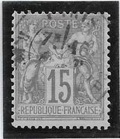 France N°66 - Oblitéré - TB - 1876-1878 Sage (Type I)