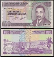BURUNDI 100 FRANCS 2011 P-44 UNC - Burundi
